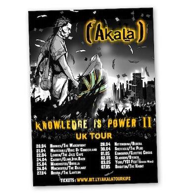 Akala Tour Poster