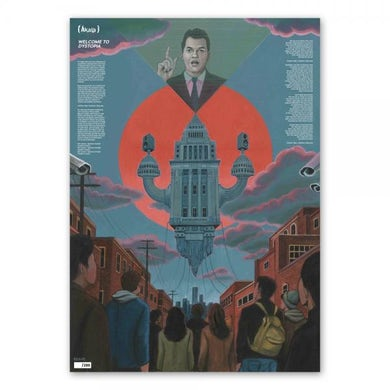 Akala Welcome To Dystopia Poster (Ltd Edition)
