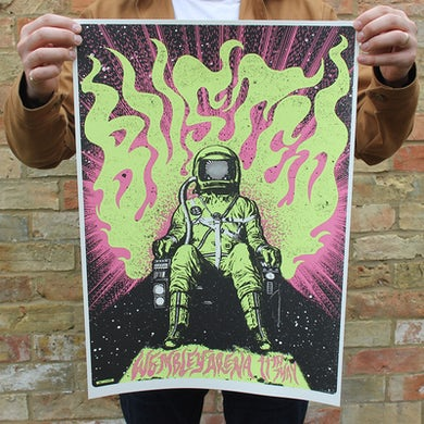 Busted Limited Edition Numbered Poster