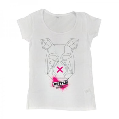 Busted Ladies Pig T-Shirt