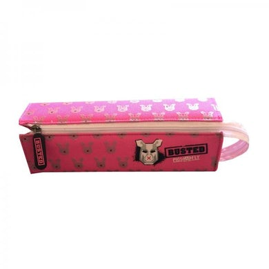 Busted Pink Cosmetic Bag