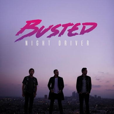 Busted Night Driver CD Album (SIGNED) CD