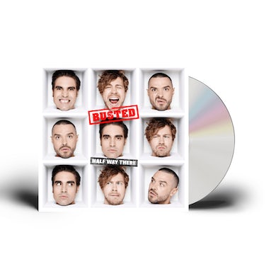 Busted Half Way There CD