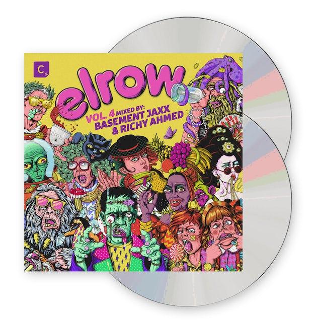 Elrow Vol. 4 (Mixed by Basement Jaxx & Richy Ahmed) 2CD Album CD