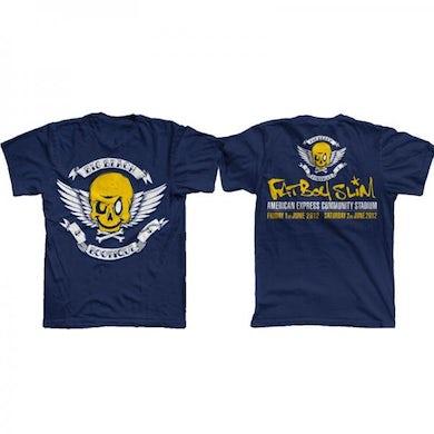 Fatboy Slim Big Beach Bootique Exclusive Blue T-Shirt