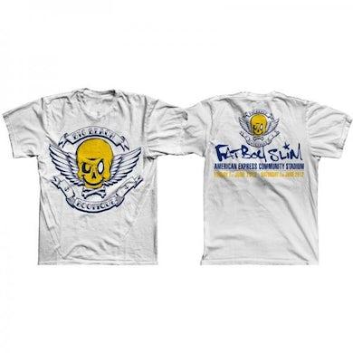 Fatboy Slim Big Beach Bootique Exclusive White T-Shirt