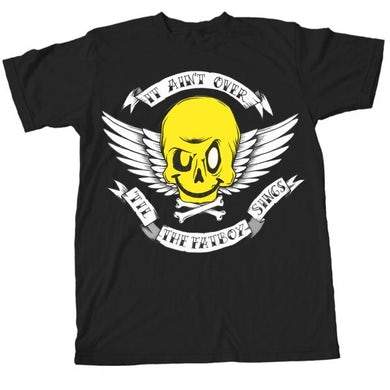 Fatboy Slim It Ain't Over Until The Fatboy Sings Black T-Shirt