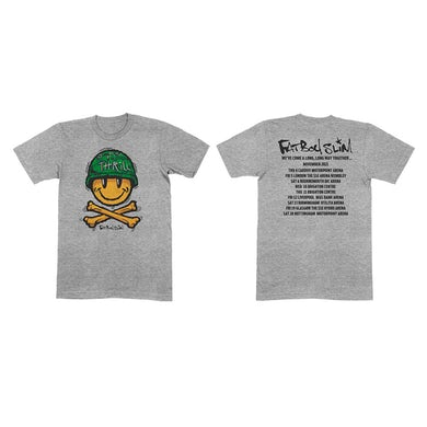 Fatboy Slim November 2021 Tour T-Shirt - Grey