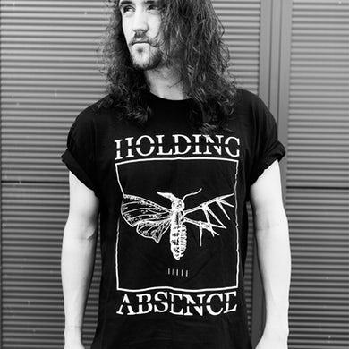 Holding Absence Moth Logo T-Shirt (Black)