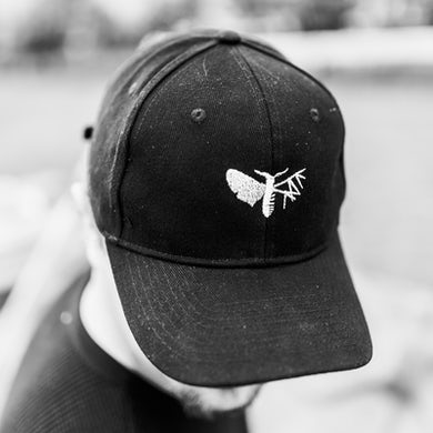 Holding Absence Embroidered Moth Cap