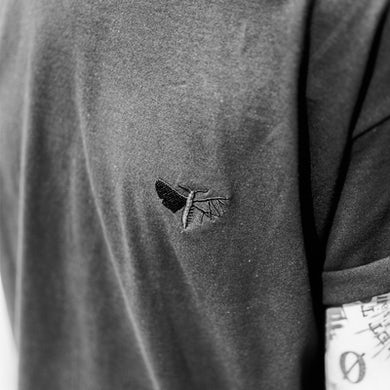Holding Absence Embroidered Moth T-Shirt