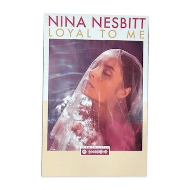 Nina Nesbitt Loyal To Me A3 Poster