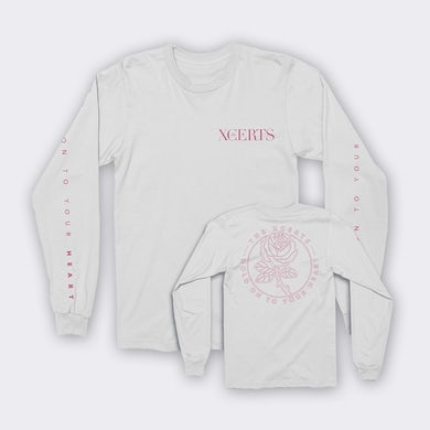 The XCERTS White Long Sleeve T-Shirt