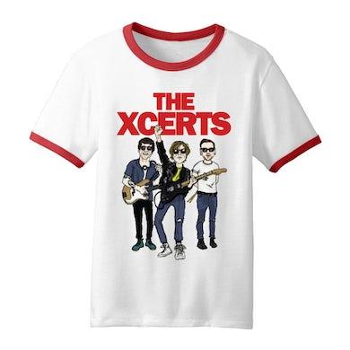 The XCERTS Cartoon Ringer T-Shirt