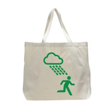 Travis Extra Large White Rain Man Tote Bag