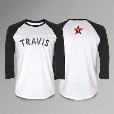Travis Logo Baseball T-Shirt
