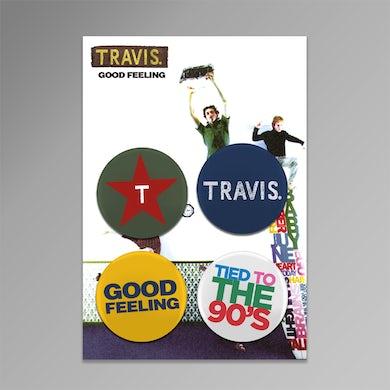 Travis Good Feeling Badge Collection