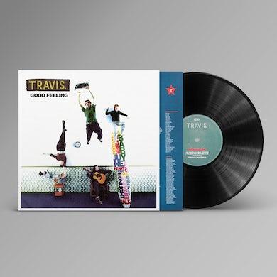 Travis Good Feeling (Reissue) Black LP (Vinyl)