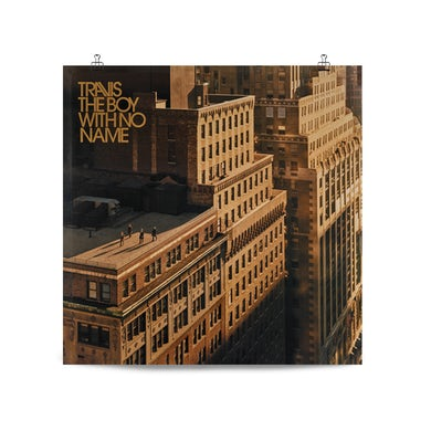 Travis The Boy With No Name Artwork Poster (Numbered)