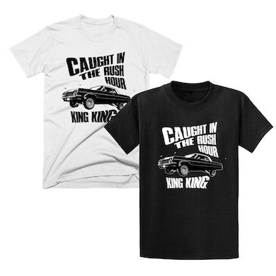 KING KING Rush Hour White T-Shirt / Rush Hour Black T-Shirt