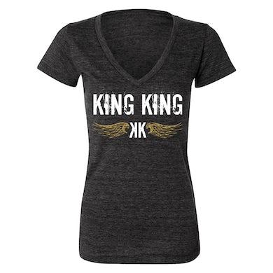 KING KING Wings Grey Ladies T-Shirt