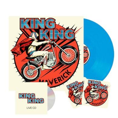 KING KING Maverick Coloured Signed Vinyl