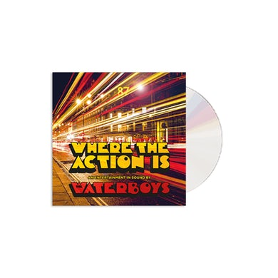 The Waterboys Where The Action Is  CD