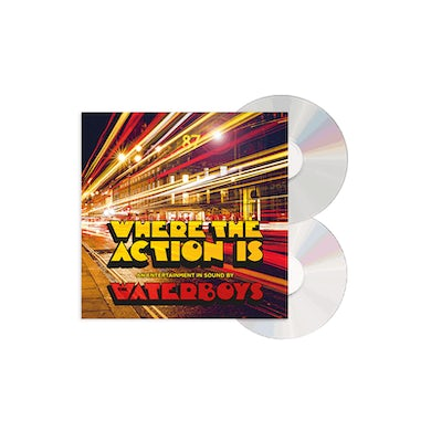 The Waterboys Where The Action Is Deluxe Deluxe CD