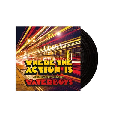 Where The Action Is Heavyweight LP (Vinyl)