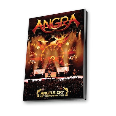 Tarja Angels Cry 20th Anniversary Tour DVD Live Album  (Argentinean Version) DVD
