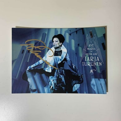 Ave Maria Postcard (Signed)