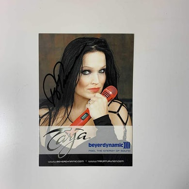 Tarja Beyerdynamic Postcard (Signed)