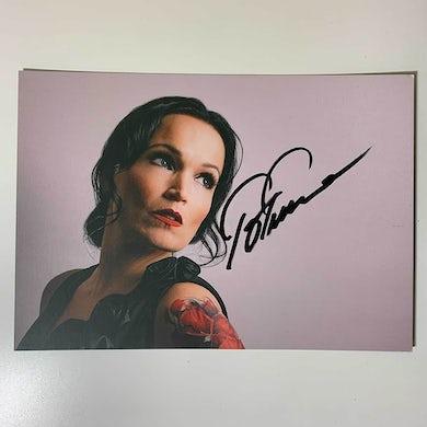 Tarja Christmas Together Postcard (Signed)