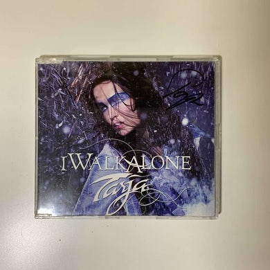 Tarja I Walk Alone Jewelcase  Single   CD Signed CD Single