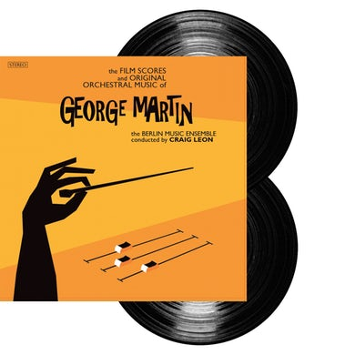 George Martin The Film Scores And Orchestral Music Of Double LP (Vinyl)