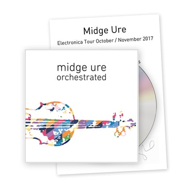 Midge Ure Orchestrated CD