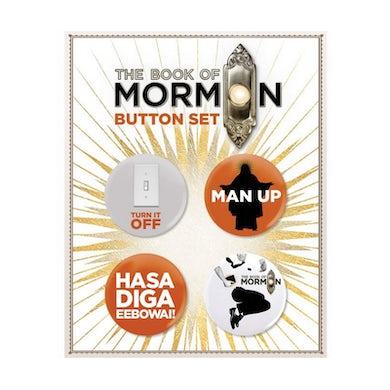 Book Of Mormon Button Card Set