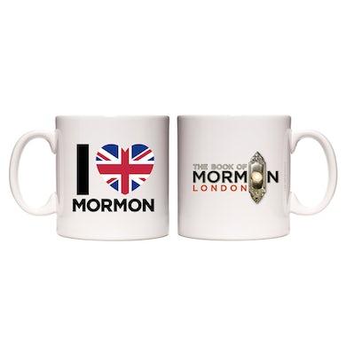 Book Of Mormon I Heart Mormon Mug