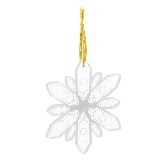 Book Of Mormon Snowflake Ornament