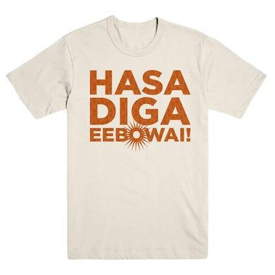 Book Of Mormon Hasa Diga Sunburst T-Shirt
