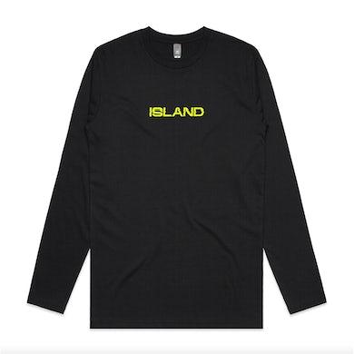 ISLAND Long Sleeve T-Shirt Black