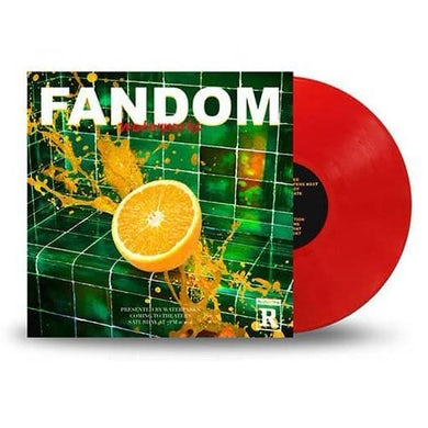 Waterparks Fandom Transparent Red LP (Vinyl)