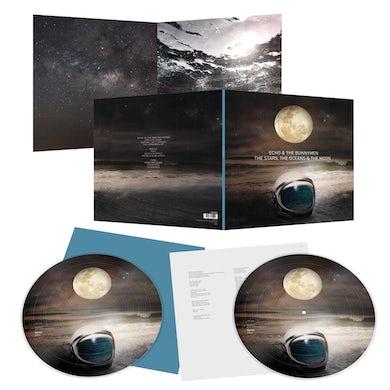 Echo & the Bunnymen The Stars, The Oceans & The Moon Double Gatefold Picture Disc Vinyl (Ltd Edition, Exclusive) Double LP