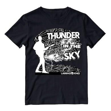 Laurence Jones Thunder In The Sky Black T-Shirt