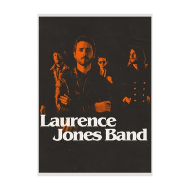 Laurence Jones Ltd Edition signed and numbered A2 Poster