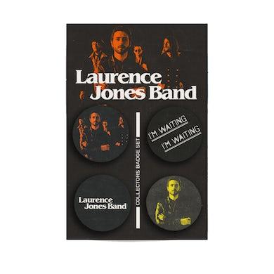 Laurence Jones Ltd Edition Collectors Badge Set