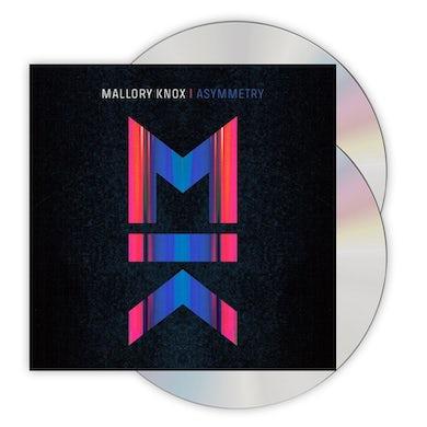 Mallory Knox Asymmetry Deluxe CD Album CD/DVD