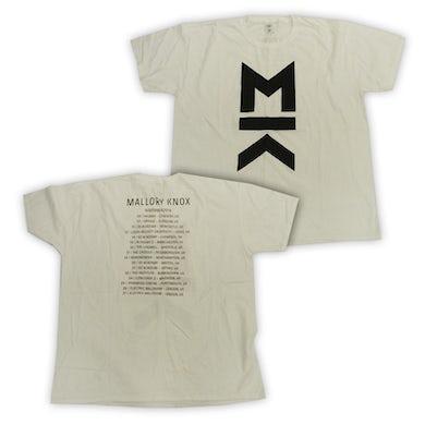 Mallory Knox White MK Tour T-Shirt