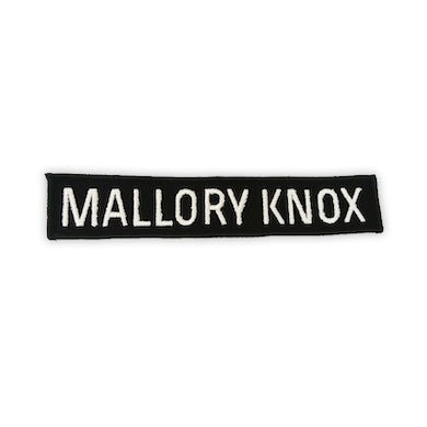 Mallory Knox Strip Text Patch