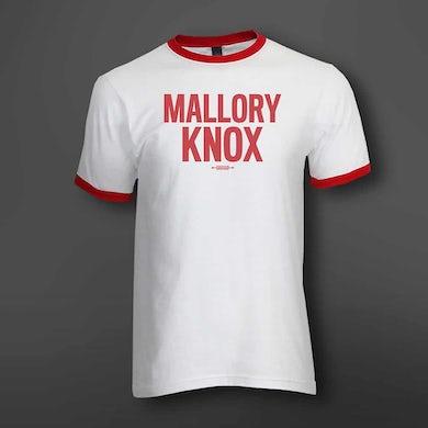 Mallory Knox White Ringer T-Shirt